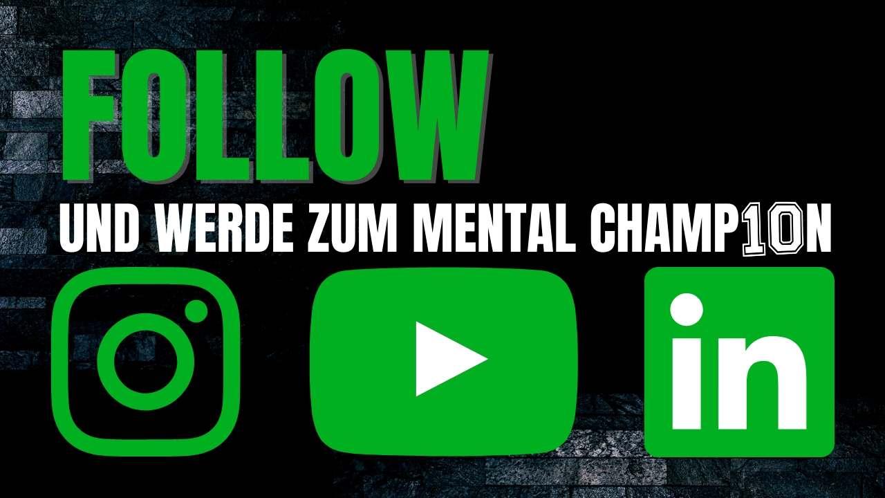 Fussball-Mental-Training: Wertvolle Inhalte auf Instagram, Youtube und Linkedin
