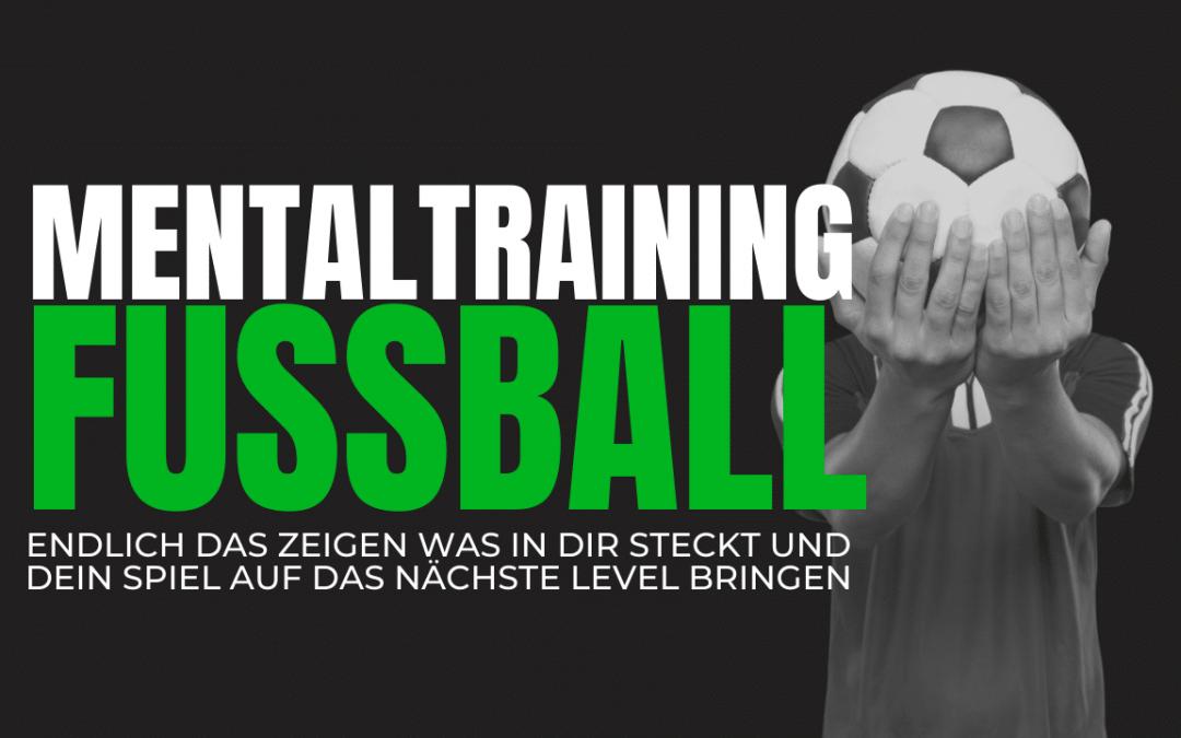 Mentaltraining Fussball: Die grosse Chance!