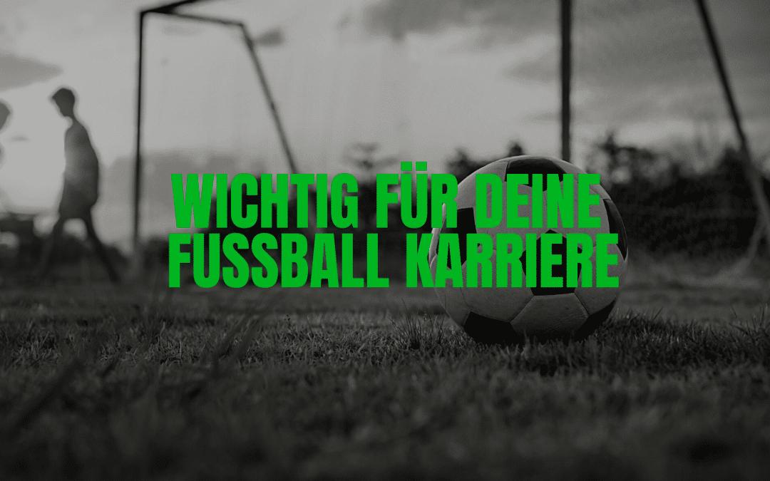 Fußball Karriere Killer vermeiden!