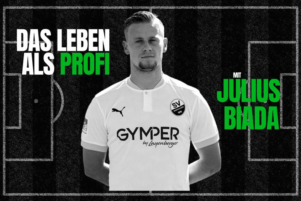 Julius Biada SV Sandhausen - Das Leben als Fußballprofi - Bild von Julius